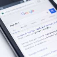 Teléfono de Google analytics
