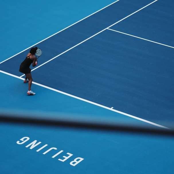 Japanese tennis player (China sliding puzzle