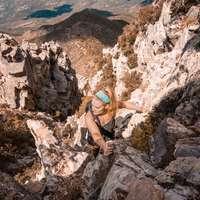 fotó nő hegymászás
