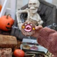 #halloween #donuts