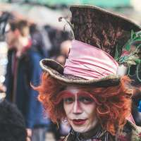 Mad Hatter Kostümfotografie