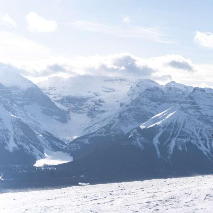 Snowboarding at Lake Louise
