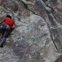 Q Route (5.12a) Sina Navidi