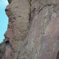 Mehrere Kletterer.