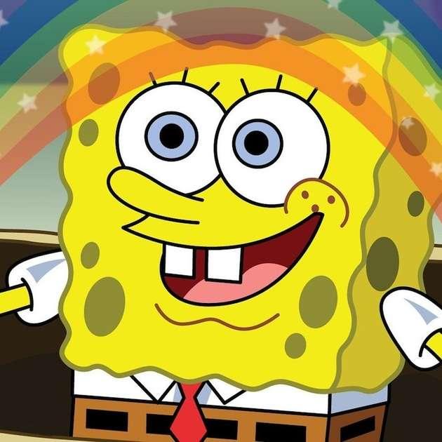 SpongeBob online puzzle