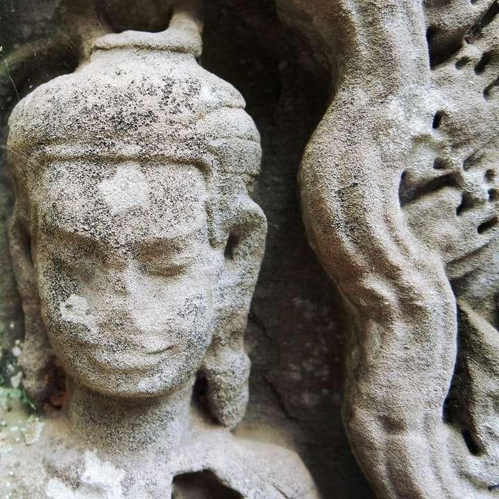 staty av hinduisk gud