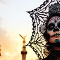 Catrina´s parade in Mexico-Stad