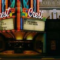 Crest bioscoop in de stad