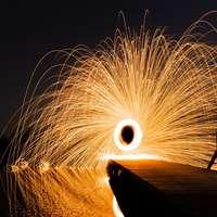 time-lapse fotografie van vuurwerk
