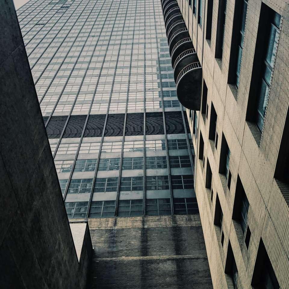 budynek z szarego betonu w ciągu dnia