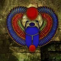 Vechiul egyptian scarab