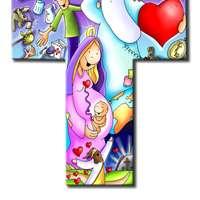 Cross For Kids sliding puzzle