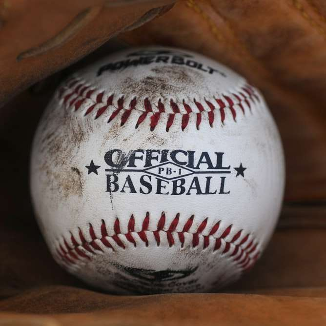 dirt covered Official Baseball ball